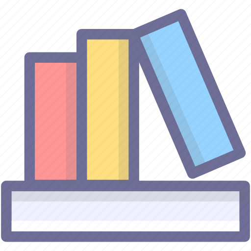 archives, books, documents, files, knowledge icon