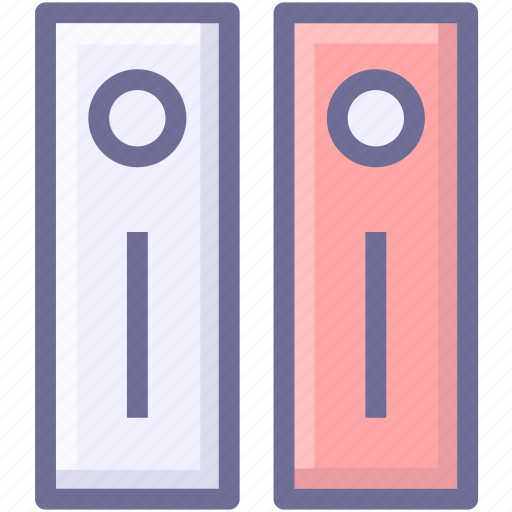 archives, datas, material icon