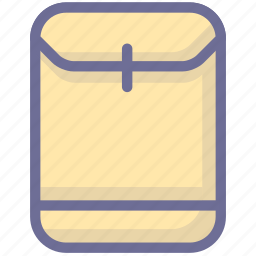 archive, briefcase, file, material, official bag icon