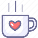 coffee, drinking, rest icon