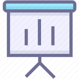 investigate, report, statistics, survey icon