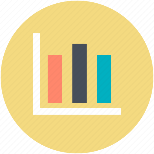 business chart, chart, data chart, finances, graph report icon