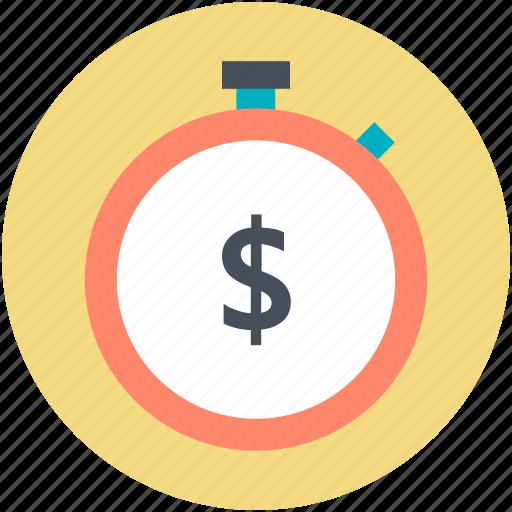 countdown, dollar symbol, savings, tax reminder, time stopwatch icon