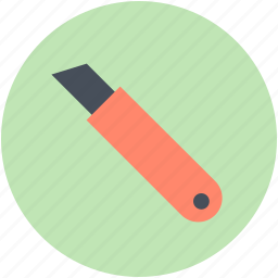 box cutter, cutter, cutter tool, paper cutter, pocket knife icon