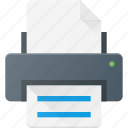 ink, jet, laser, office, print, printer icon