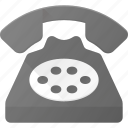 office, old, phone, retro, telephone icon