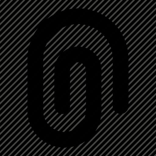 attach, attachment, clip, file, note, office, paper icon