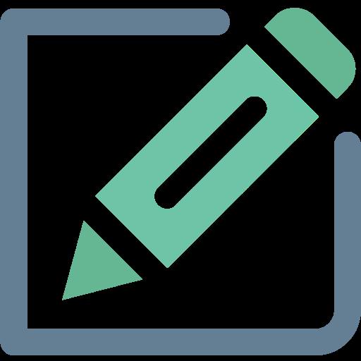 compose, create, edit, edit file, office, pencil, writing creative icon