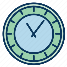 clock, hour, hours, minutes, time, wall clock icon
