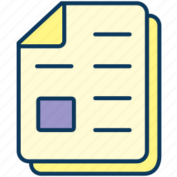 copy, document, paper, sheets icon