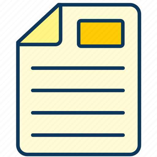 doc, document, paper, sheet, text icon