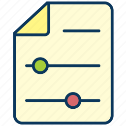document, filter, paper, sheet icon