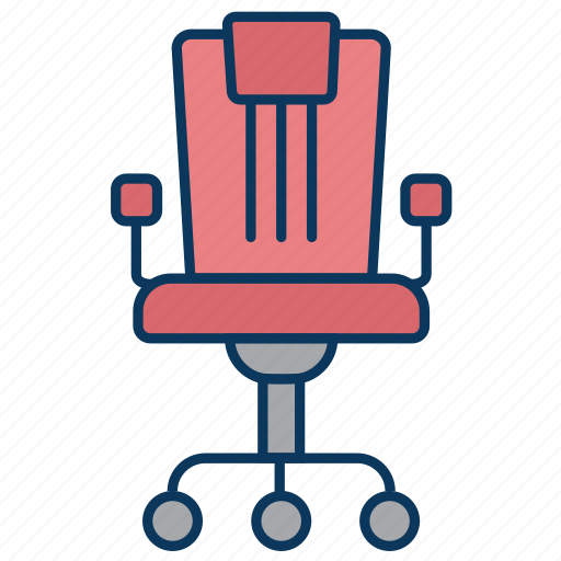 chair, manager, office, office chair icon