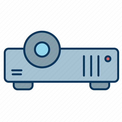 movie, office, player, presentation, projector, screening icon