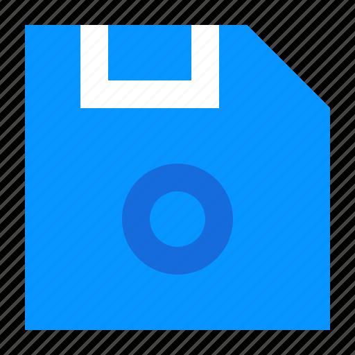 Disk, floppy, harddisk, memory, office icon - Download on Iconfinder