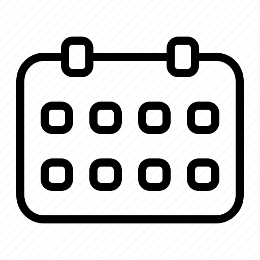 business, calendar, management, office, schedule icon