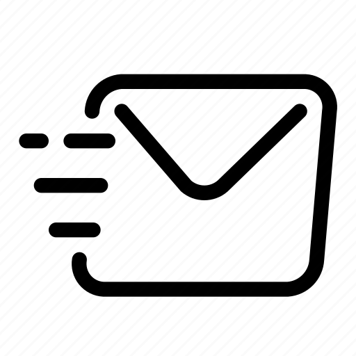 email, letter, mail, message, sending icon