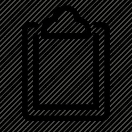 checklist, clipboard, doc, paper icon