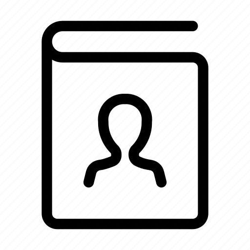 Book, contact, phone, reading, study icon - Download on Iconfinder
