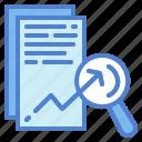 analysis, chart, data icon