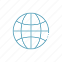 connected, earth, global, internet, network, planet, technology icon