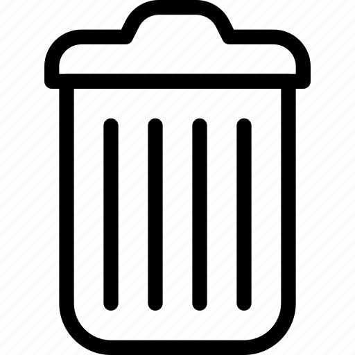 can, garbage, office, recycle, trashcan icon