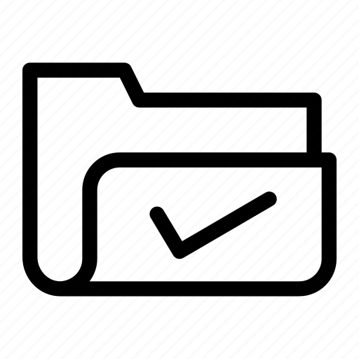 correct, data, document, file, folder icon