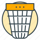 basket, bin, business, office, trash icon