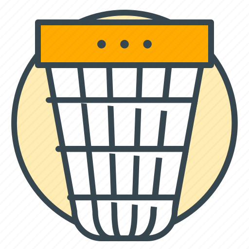 basket, bin, business, office, trash icon