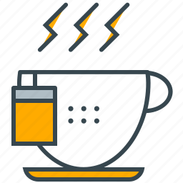 business, drink, hot, office, tea, time icon