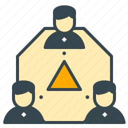 avatar, business, group, office, team, work icon