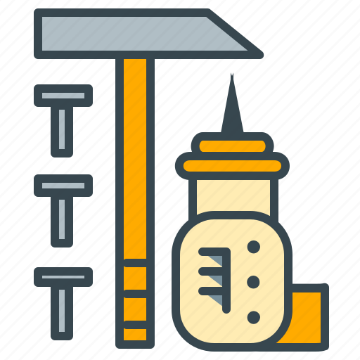 business, hammer, office, preferences, tools icon