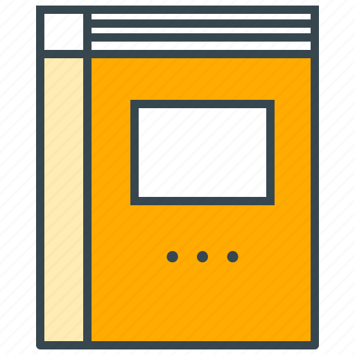 book, business, office, textbook, workbook icon
