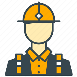 business, construction, engineer, office, worker icon