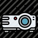 gadget, movie, presentation, projector