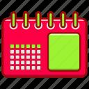business, calendar, modern, office, tools, work, working