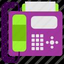 business, modern, office, phone fax, technology, work