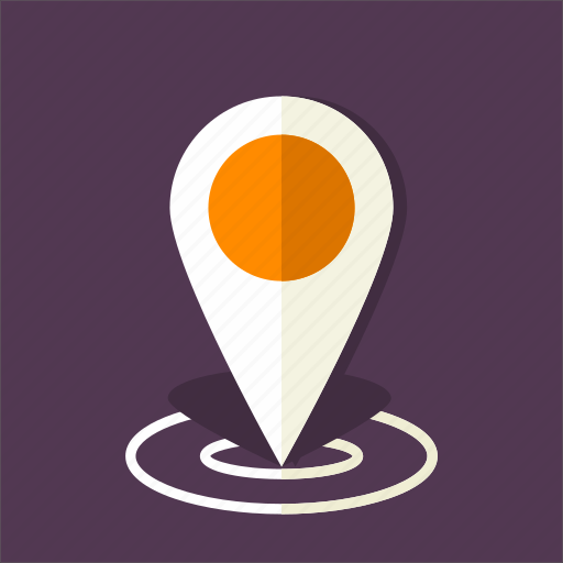 gps, location, map, placeholder, point, tag icon