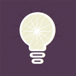 bulb, electricity, idea, illumination, invention, light, technology icon