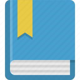 book, bookmarked, education, read, school, study icon