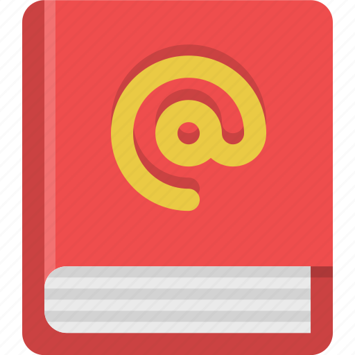 address, address book, book, contacts, phonebook icon