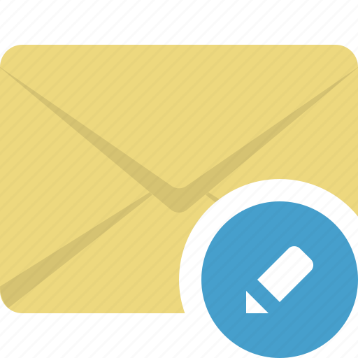communication, e-mail, edit, email, envelope icon