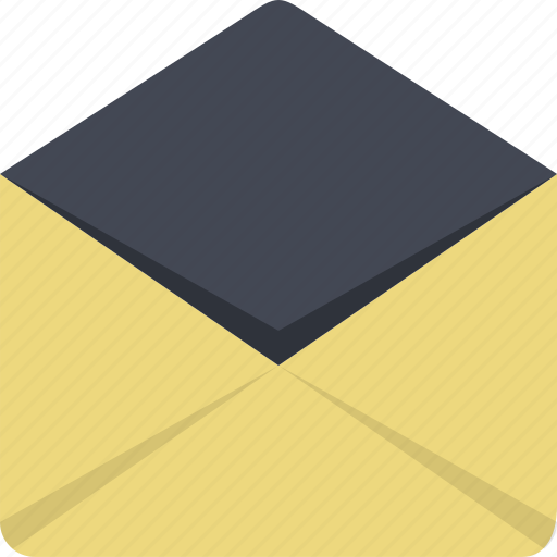 communication, email, envelope, mail, message, post icon
