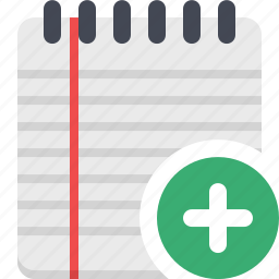 documents, notebook, notepad, notes, to-do icon