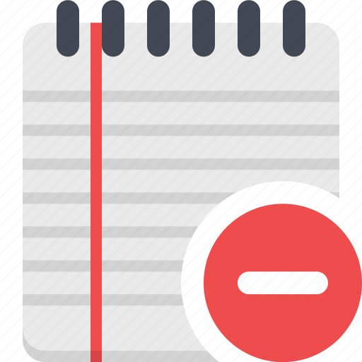 notebook, notepad, notes, reminder, to-do icon