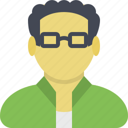 client, customer, geek, guy, nerd, profile, user icon
