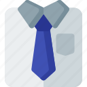 business, businessman, man, office, shirt, suit, tie icon