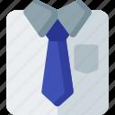suit, business, businessman, man, office, shirt, tie icon