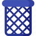 bin, delete, garbage, office, recycle, remove, trash icon