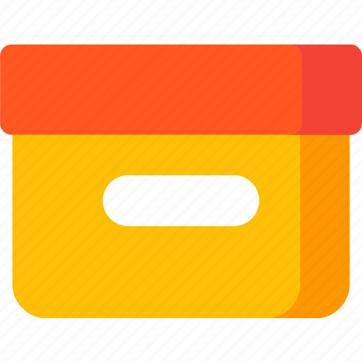 box, delivery, office, package, product, storage icon